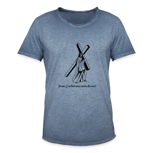 JC 01 - T-shirt vintage Homme