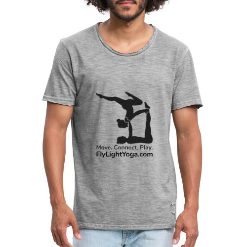 AcroYoga: Move Connect Play - Men's Vintage T-Shirt