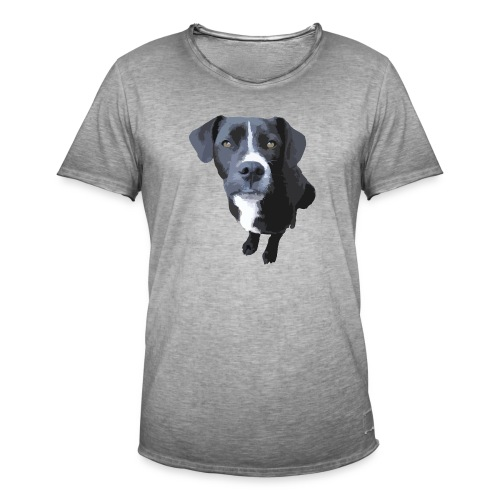 Johnny Staffy - Männer Vintage T-Shirt