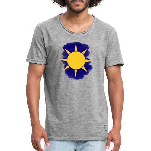 Sun - Camiseta vintage hombre