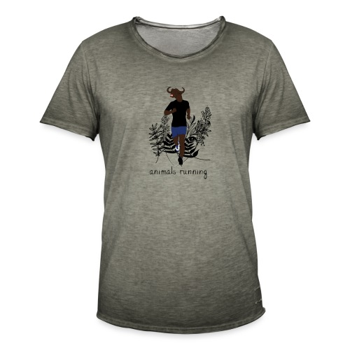 Buffle running - T-shirt vintage Homme