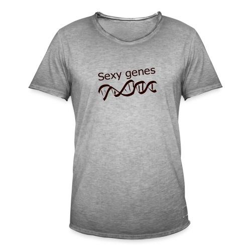 Sexy genes - Genetics - Men's Vintage T-Shirt