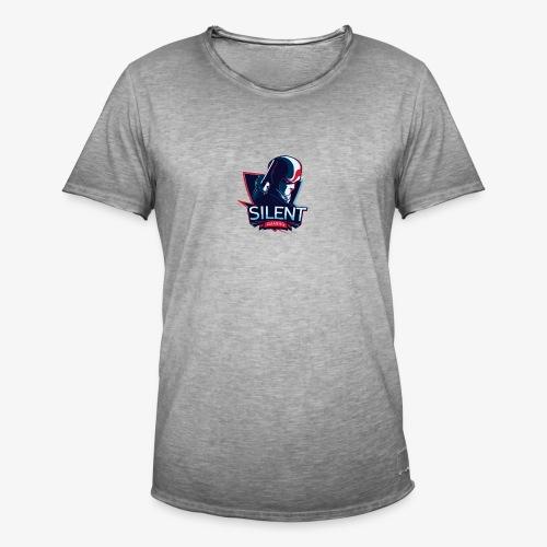 SILENTGAMING Logo color - Männer Vintage T-Shirt