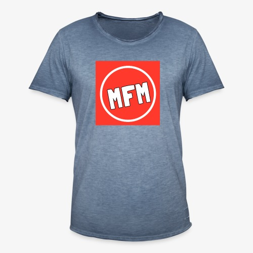 MrFootballManager Clothing - Men's Vintage T-Shirt