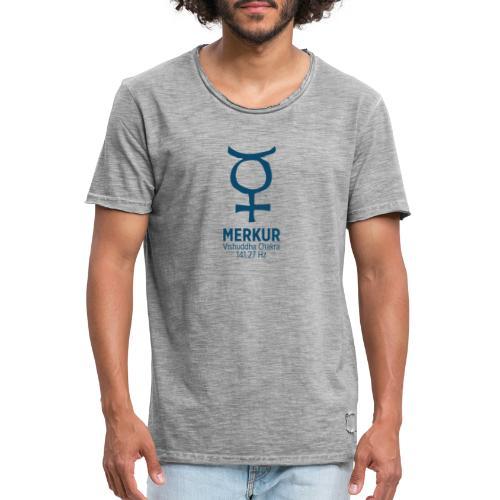 Planet Merkur - Männer Vintage T-Shirt