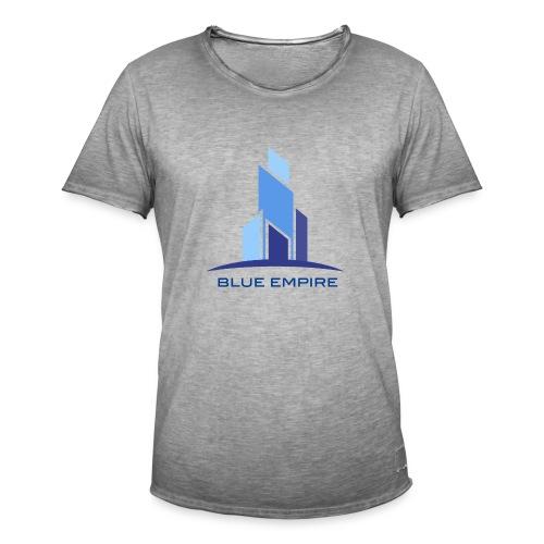 Logo Azul - Camiseta vintage hombre