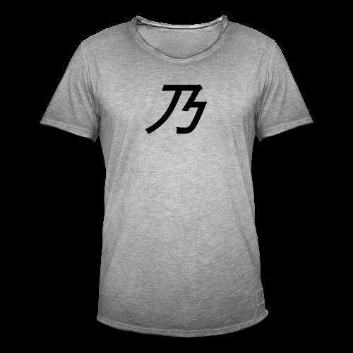 B Logo - Herre vintage T-shirt