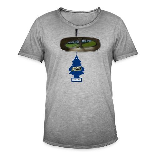 Look back with split vision. - Vintage-T-shirt herr