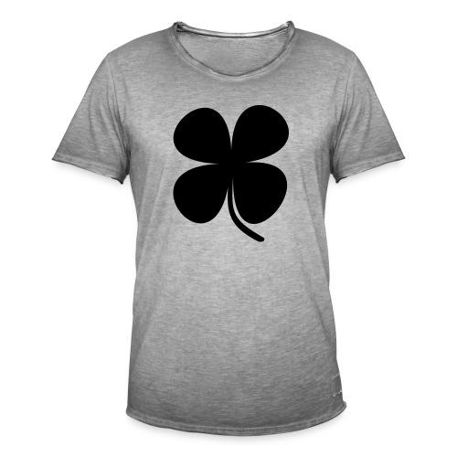 CLOVER - Camiseta vintage hombre