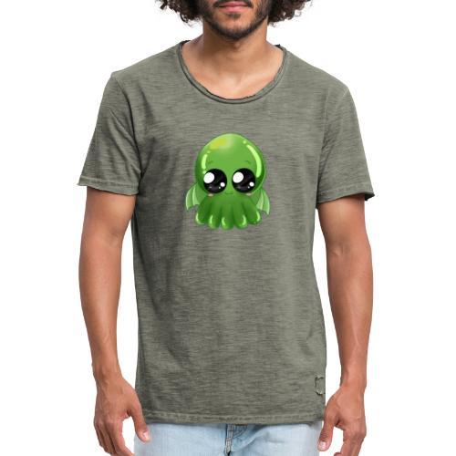 Super süßer Cthulhu - Männer Vintage T-Shirt