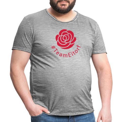 #TeamEitorf 1C - Männer Vintage T-Shirt