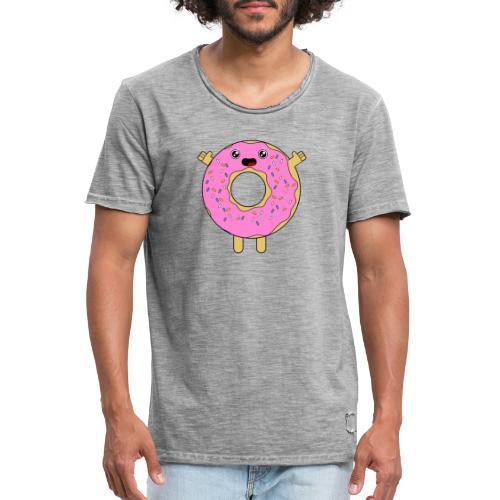 Donut - Camiseta vintage hombre