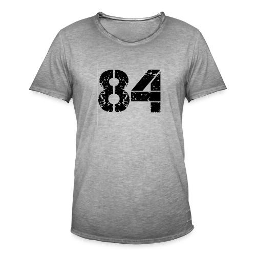 84 vo t gif - Mannen Vintage T-shirt