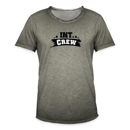 International Crew T-Shirt Design by Lattapon - Herre vintage T-shirt