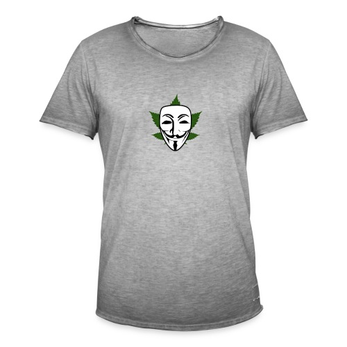 Anonymous - Mannen Vintage T-shirt