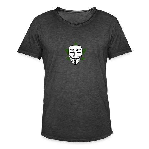 Anonymous - Mannen Vintage T-shirt