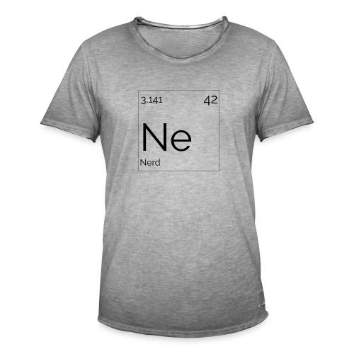 Mendeleïev Nerd - T-shirt vintage Homme