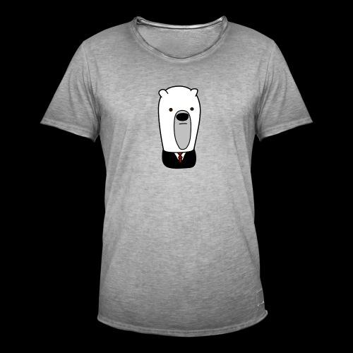 officel_polarbear_shop_logo - Herre vintage T-shirt