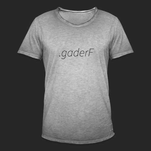 .gaderF - Vintage-T-shirt herr