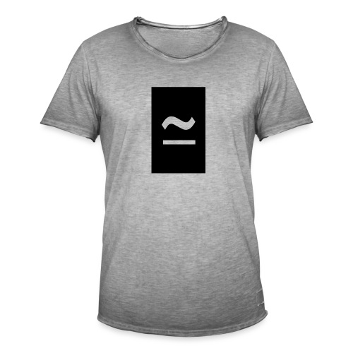 The Commercial Logo Black New - Men's Vintage T-Shirt