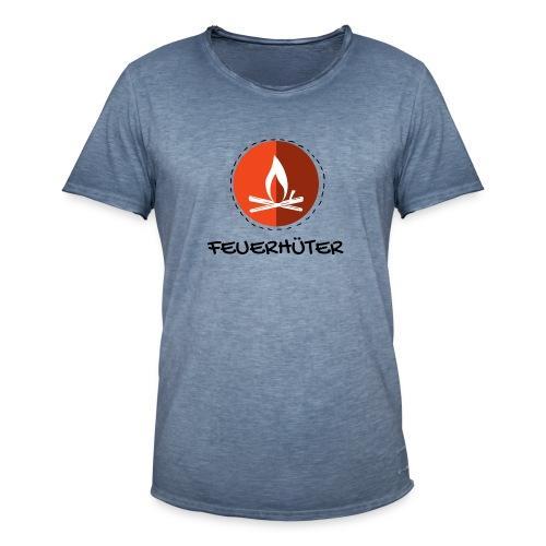 feuerhu ter black 1 - Männer Vintage T-Shirt