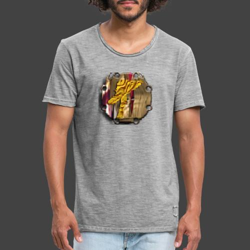 Finkianer Talisman - Männer Vintage T-Shirt