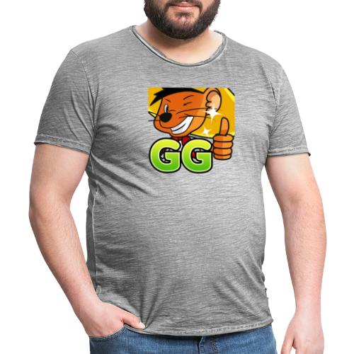 GG 2 copy - Herre vintage T-shirt