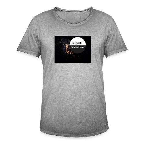 KeMoT odzież limitowana edycja - Koszulka męska vintage