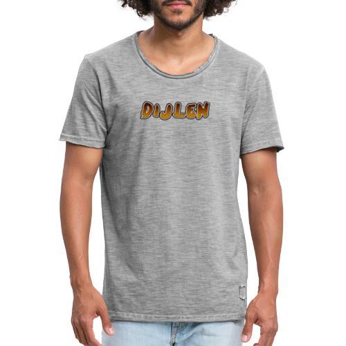 DIJLEN - Mannen Vintage T-shirt