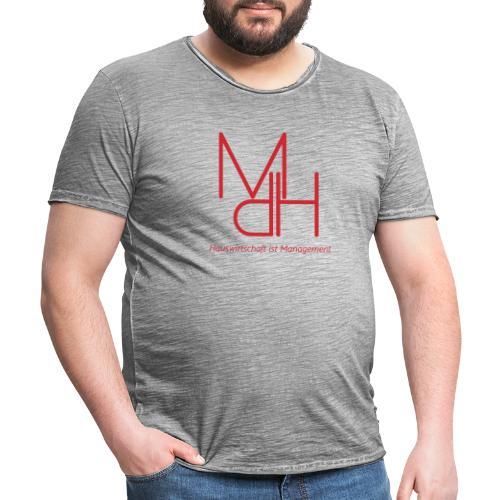 MdH - Hauswirtschaft ist Management - Männer Vintage T-Shirt