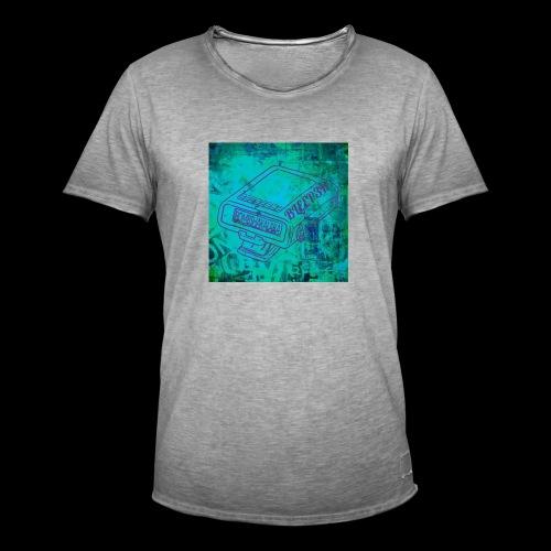 bleeper - Männer Vintage T-Shirt