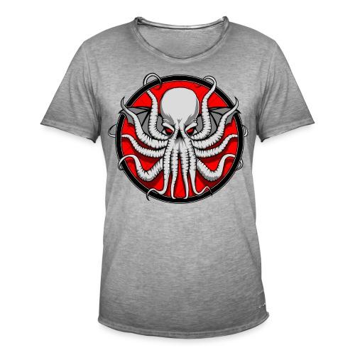 Cthulhu Sigil Crest - Men's Vintage T-Shirt