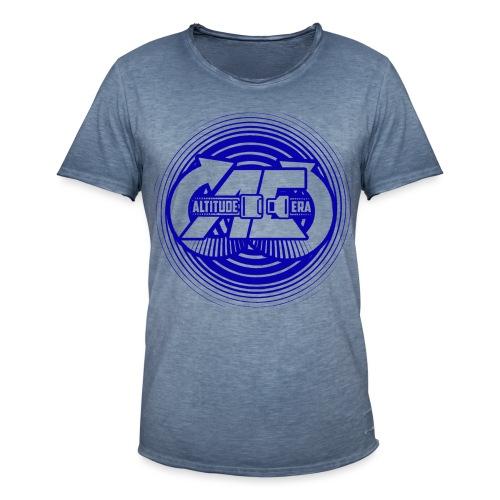 Altitude Era Circle Logo - Men's Vintage T-Shirt