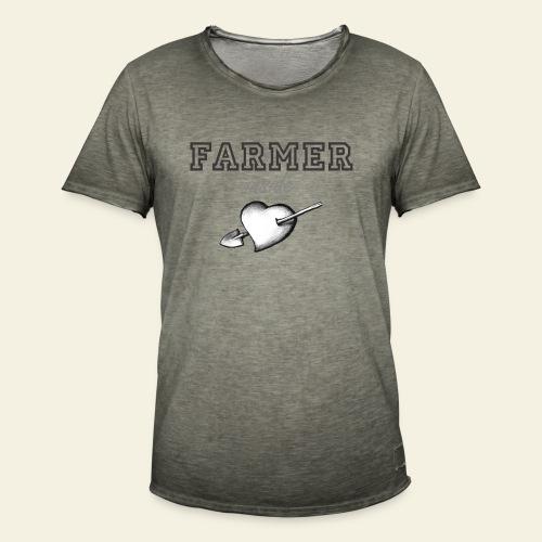 Hearth farmer - Maglietta vintage da uomo