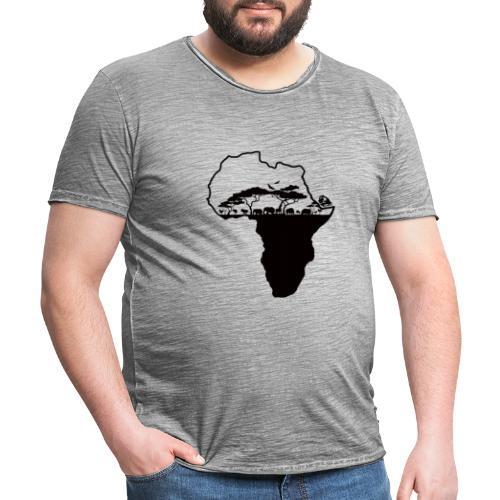 Afrique Savane - T-shirt vintage Homme