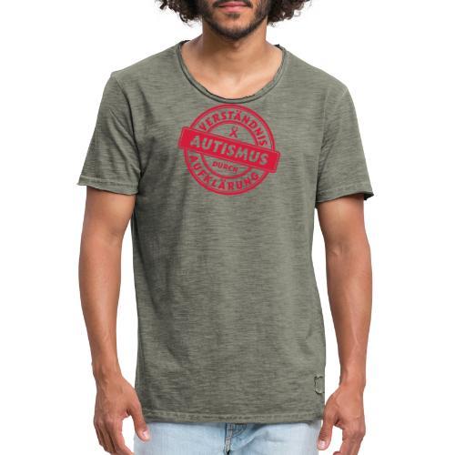 Verständnis durch Aufklärung - Männer Vintage T-Shirt