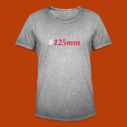 125mm - Männer Vintage T-Shirt