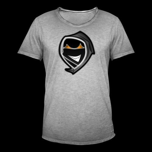 ghost svg - Männer Vintage T-Shirt