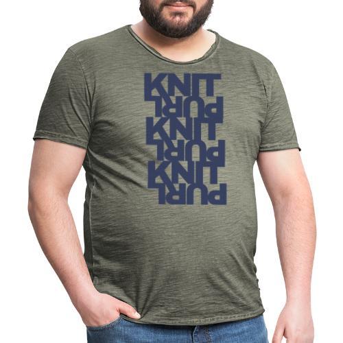 St, dark - Men's Vintage T-Shirt