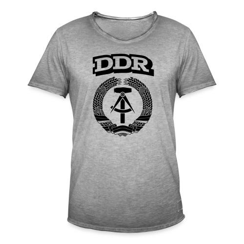 DDR T-paita - Miesten vintage t-paita