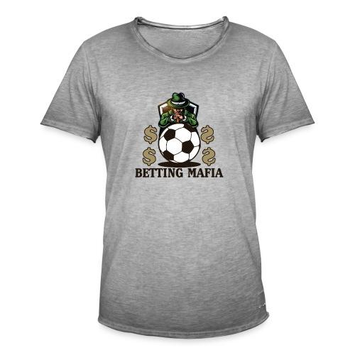 Sportwetten Mafia - Männer Vintage T-Shirt