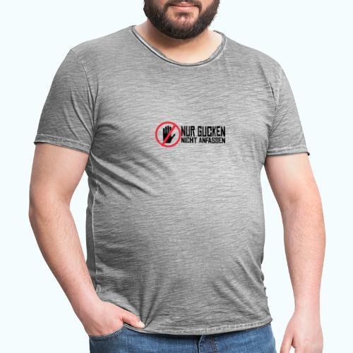 Do not touch - Men's Vintage T-Shirt
