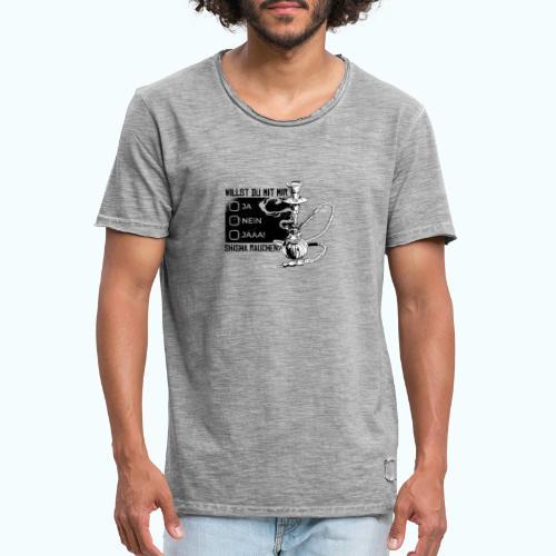 Shisha fan - Men's Vintage T-Shirt
