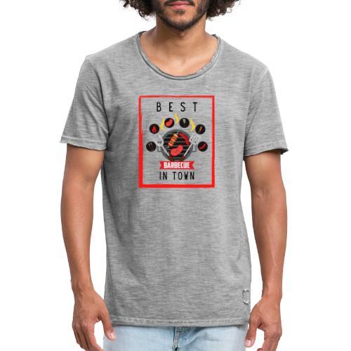 Best BBQ in Town - Männer Vintage T-Shirt