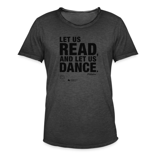 LET US READ | Bookish Merch - Männer Vintage T-Shirt