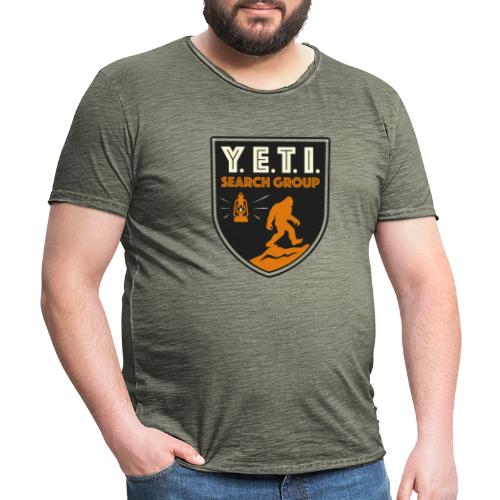 Blason Yeti Search Group - T-shirt vintage Homme