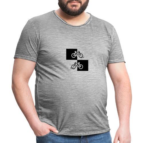 Ich liebe mein Fahrrad T-Shirt für Biker - Männer Vintage T-Shirt