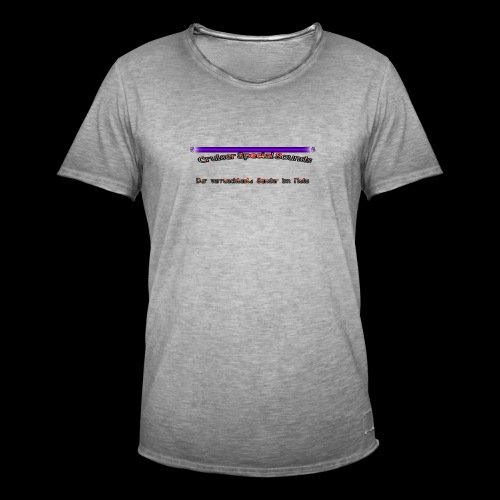 cssder - Männer Vintage T-Shirt