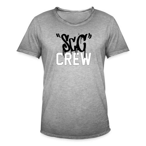 ScC CREW Logo Zwart - Mannen Vintage T-shirt