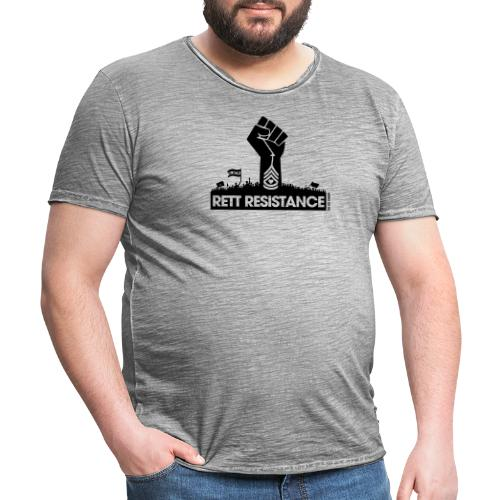 Rett Resistance - Army of Us - Men's Vintage T-Shirt